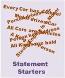 Statement Starters
